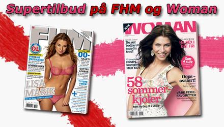 FHM og Woman