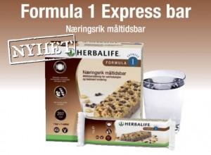 Formula 1 express bar